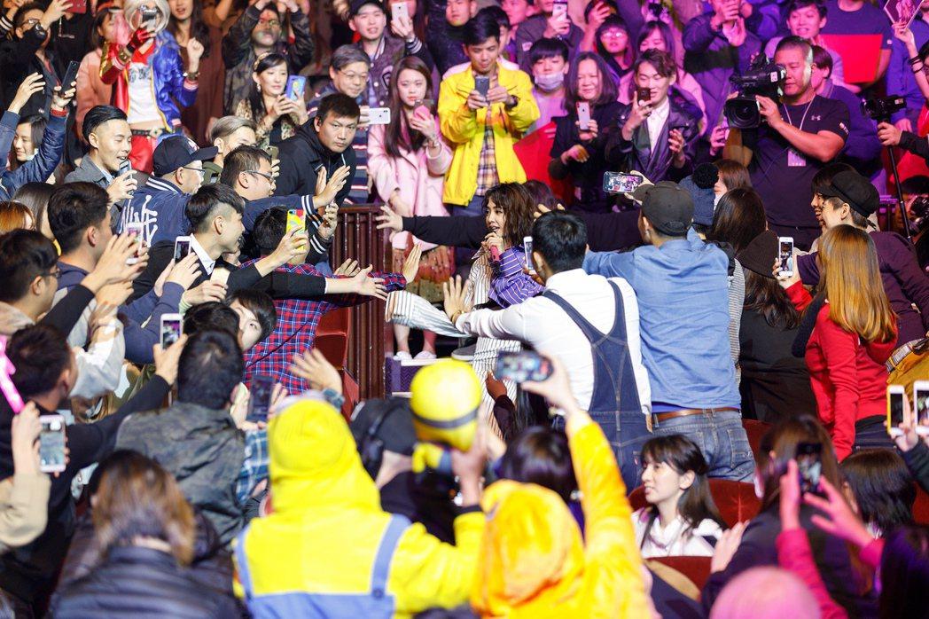 蔡依林28日舉行粉絲同樂會。圖/華納音樂提供