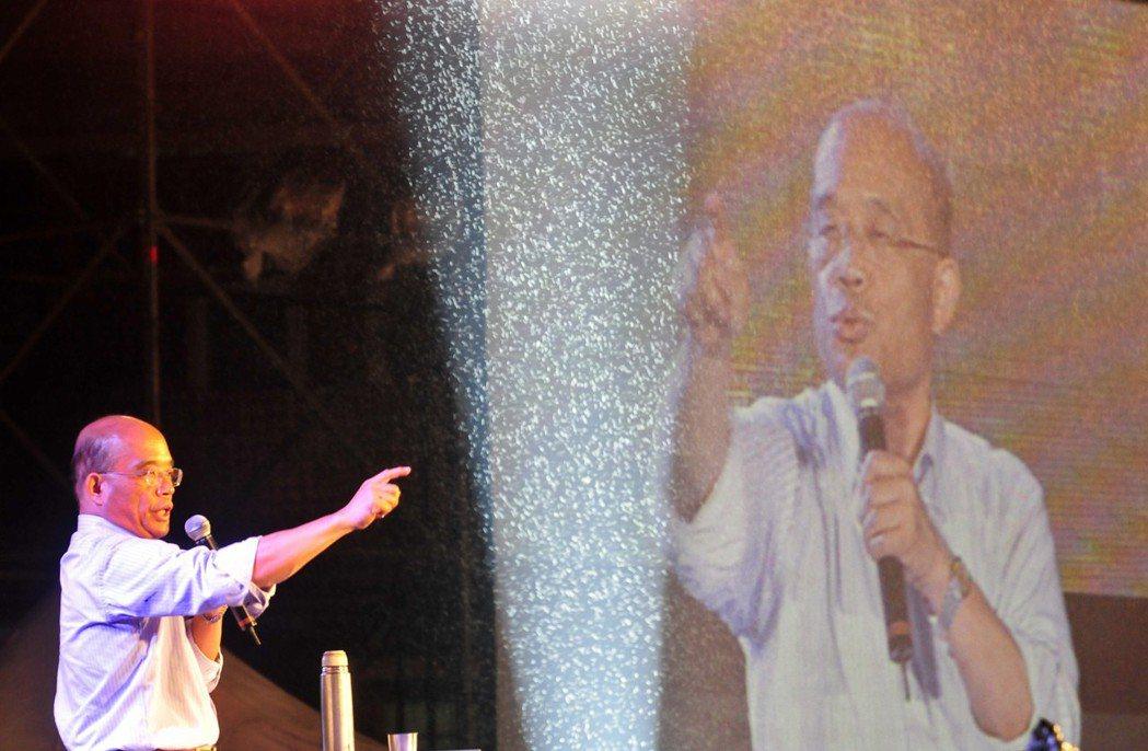 2010年,前行政院院長蘇貞昌競選台北市長,此舉在民進黨黨內引起「反作用力」。 ...