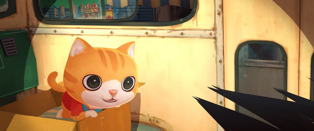 「小貓巴克里」主角超可愛,深受小孩喜愛。圖/牽猴子提供