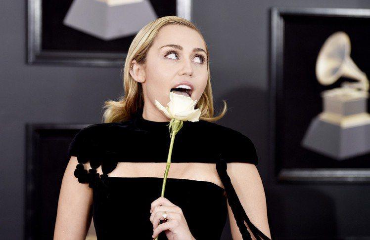 麥莉希拉(Miley Cyrus)。圖/美聯社