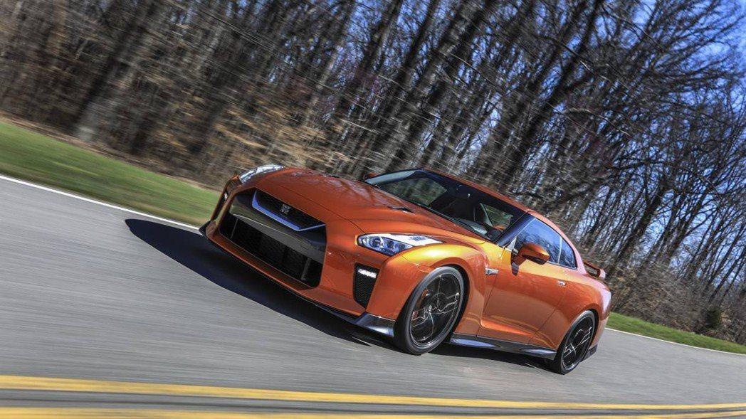 Nissan GT-R。 摘自Nissan