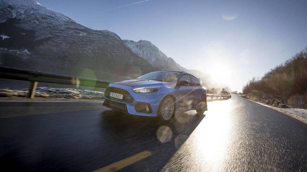 Focus RS。 摘自carscoops