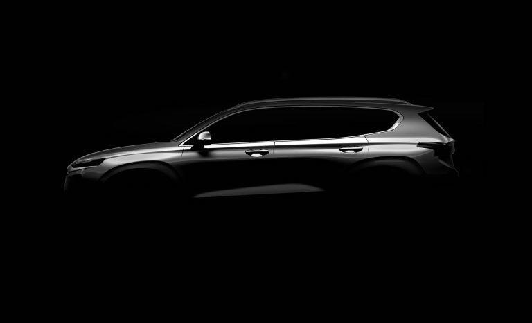 全新Hyundai Santa Fe,即將於下月發表。 摘自Hyundai