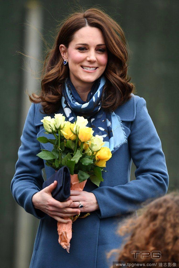 凱特王妃從去年下半年開始,都頂著一頭及肩的鮑伯髮。圖/達志影像
