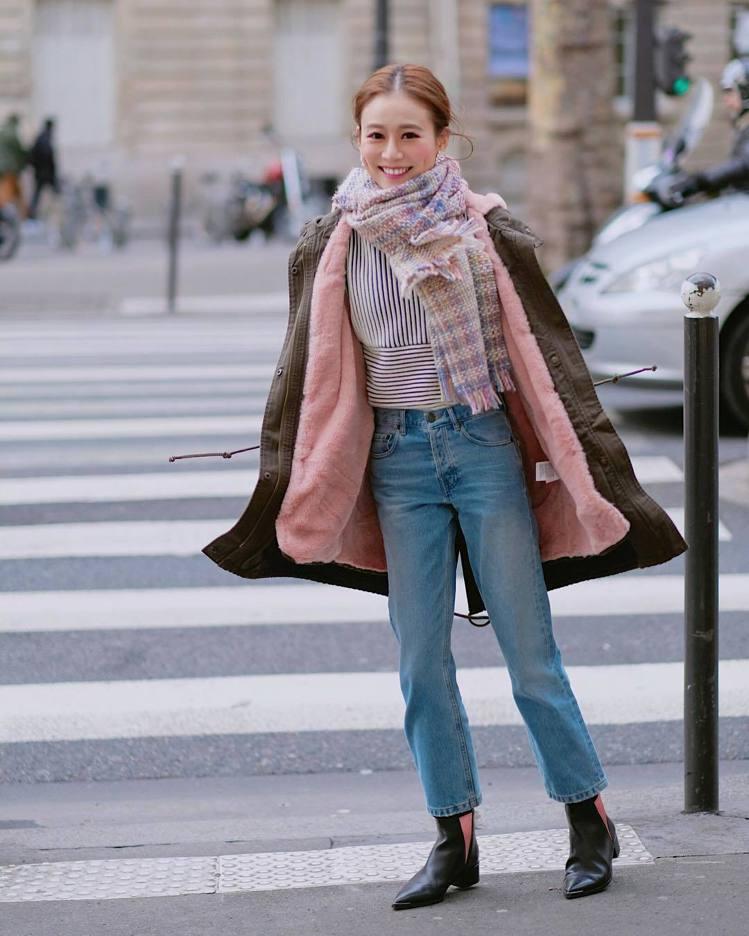 「我的巴黎小生活」部落客Marina。圖/擷自instagram