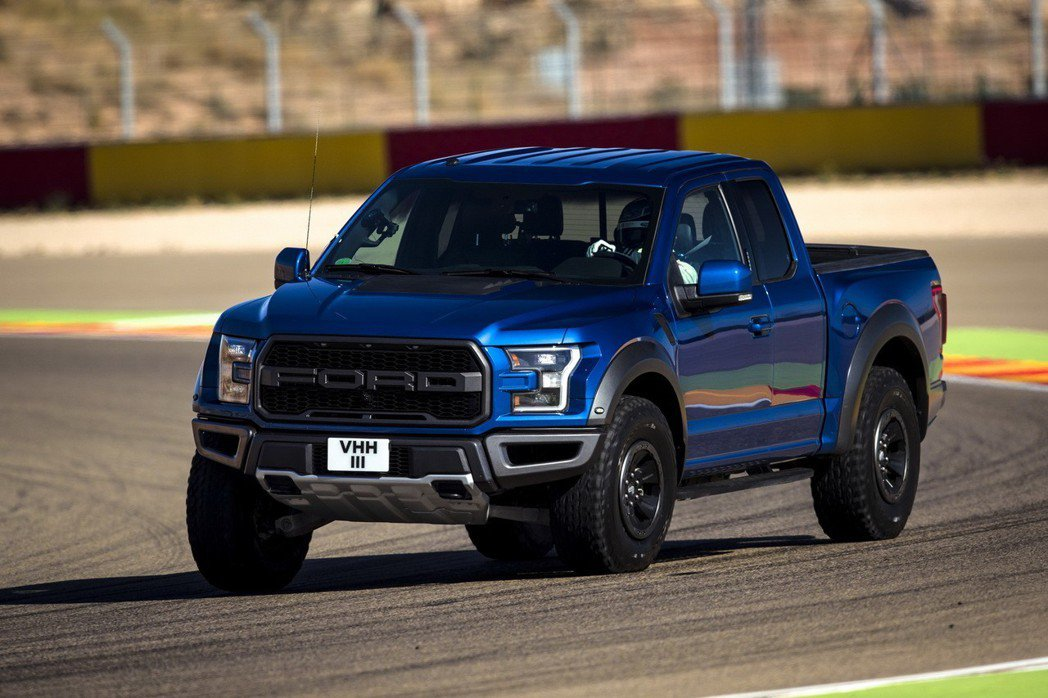 Ford F-150 Raptor。 摘自Ford Performance