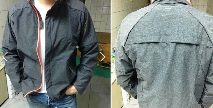 圖片來源/ 旋轉拍賣 台基電外套