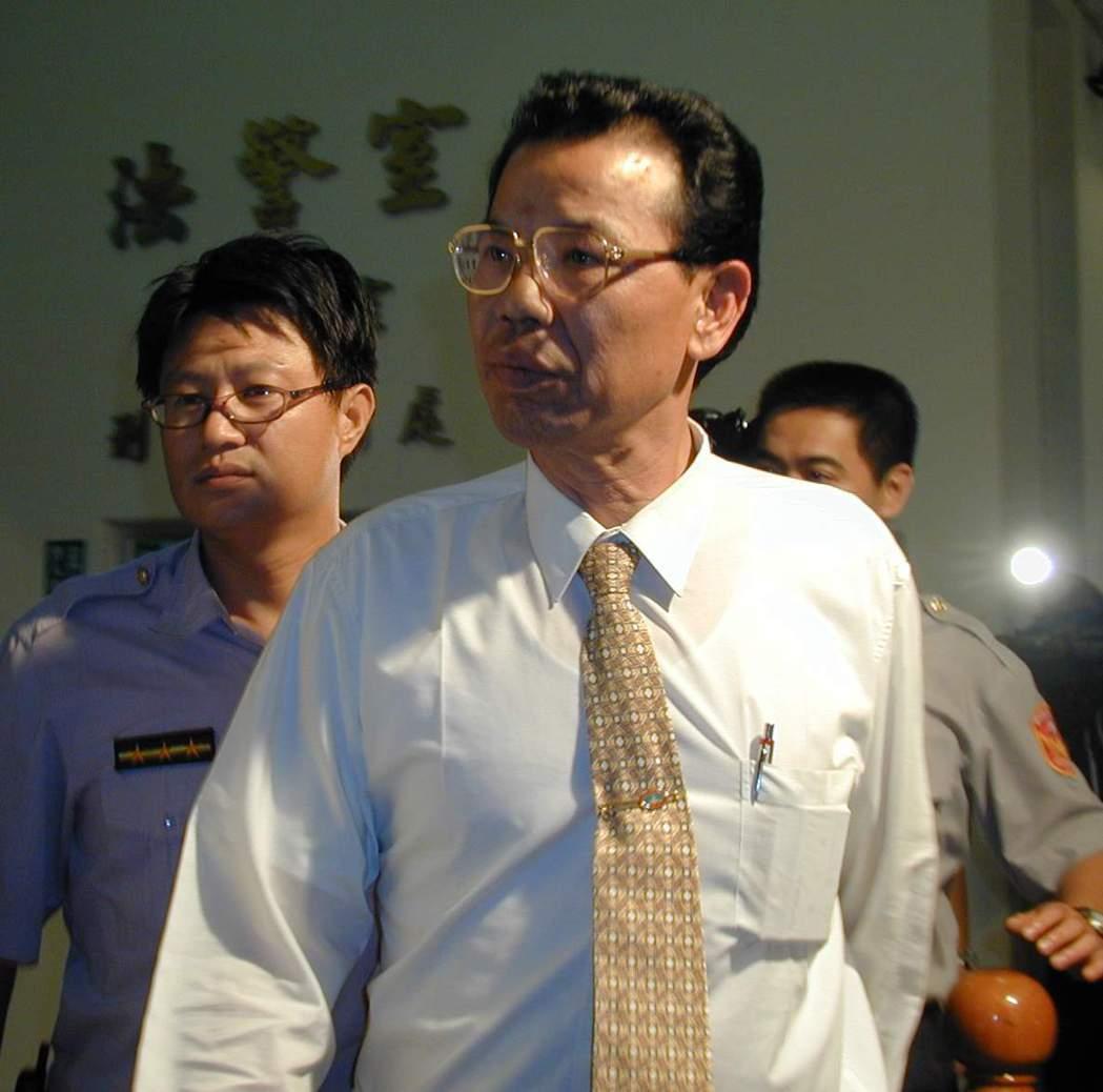 前金門縣長陳水在。 圖/聯合報系資料照片