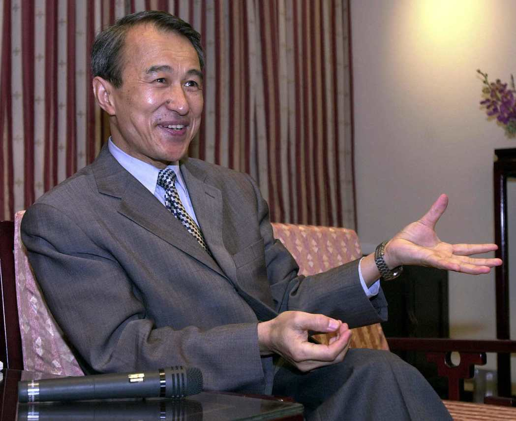 已辭世的法務部前部長陳定南。圖/聯合報系資料照片