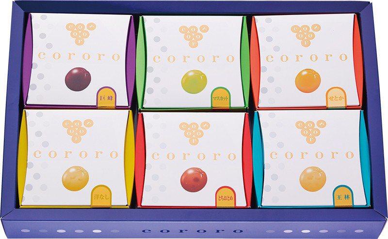 cororo ¥540/盒/旅客前往日本必買的超商小零食「UHA味覺糖」,與阪急...