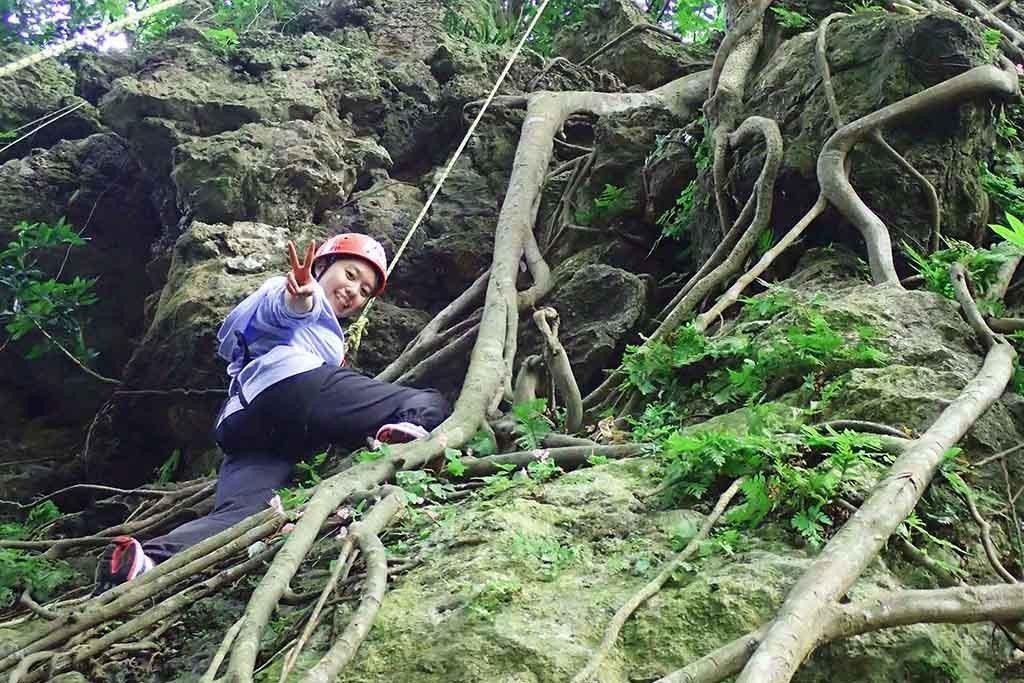 ▲台南-關子嶺攀岩。(圖/Tripbaa趣吧!達人帶路)