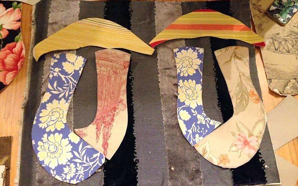 ▲台南-手感花布鞋。(圖/Tripbaa趣吧!達人帶路)