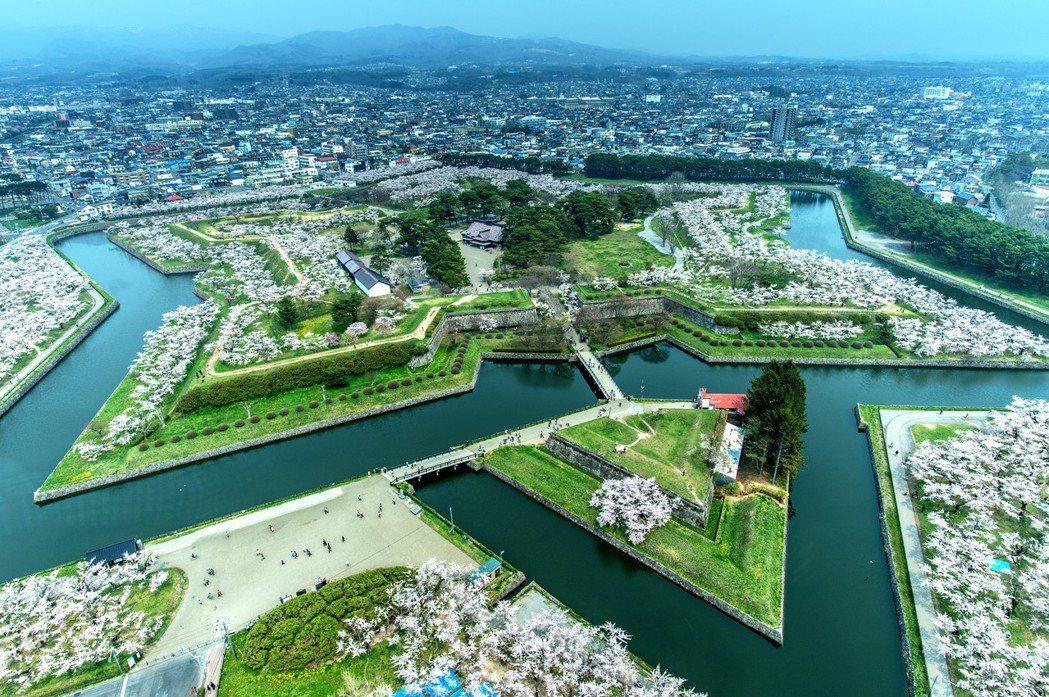▲日本北海道五稜郭公園。(圖/攝影者:Hales Suen, Flickr CC...