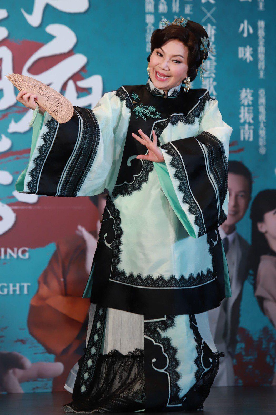 唐美雲致力於推廣歌仔戲文化。圖/民視提供