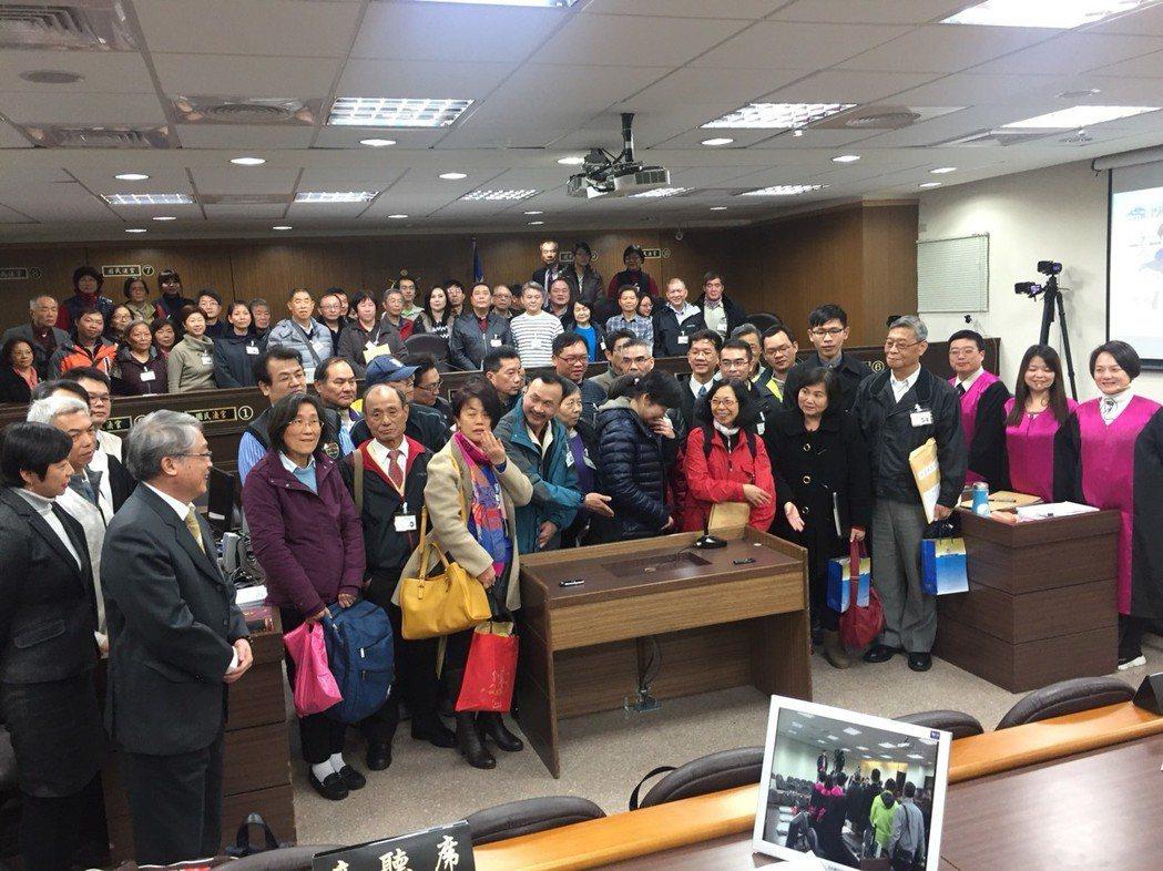 台北地院接連三天舉行「國民參與刑事審判法」模擬法庭,順利完成。 記者賴佩璇/攝影