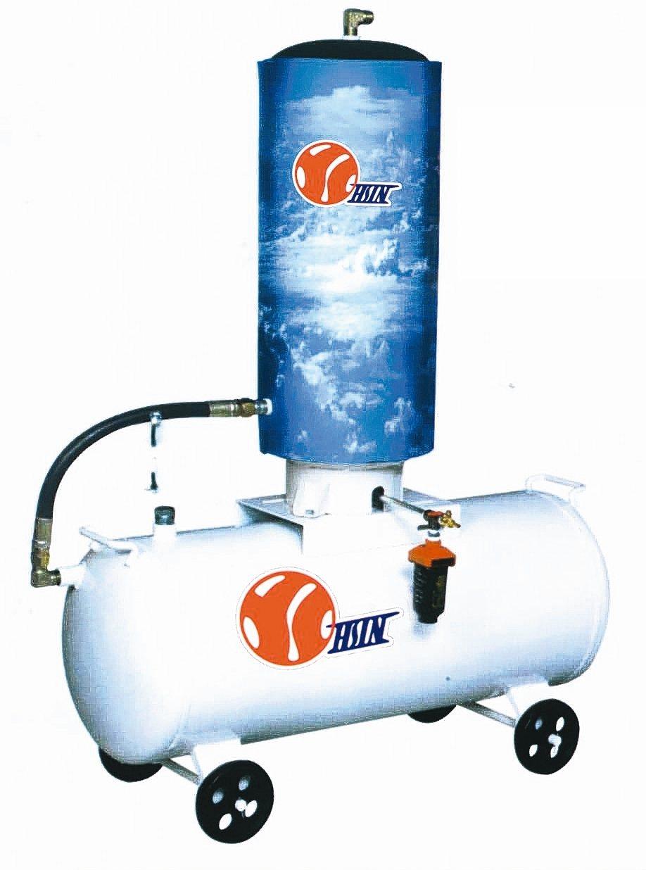 兆義新高效物理空壓式乾燥機。 兆義新/提供