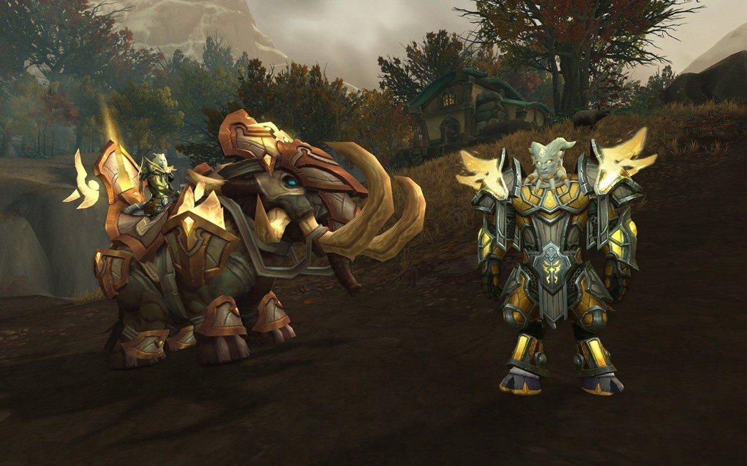 《魔獸世界:決戰艾澤拉斯》全新同盟種族光鑄德萊尼與坐騎