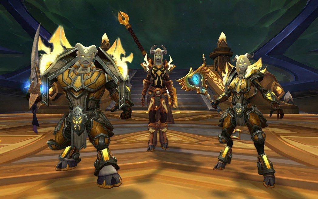 《魔獸世界:決戰艾澤拉斯》全新同盟種族光鑄德萊尼與傳承護甲