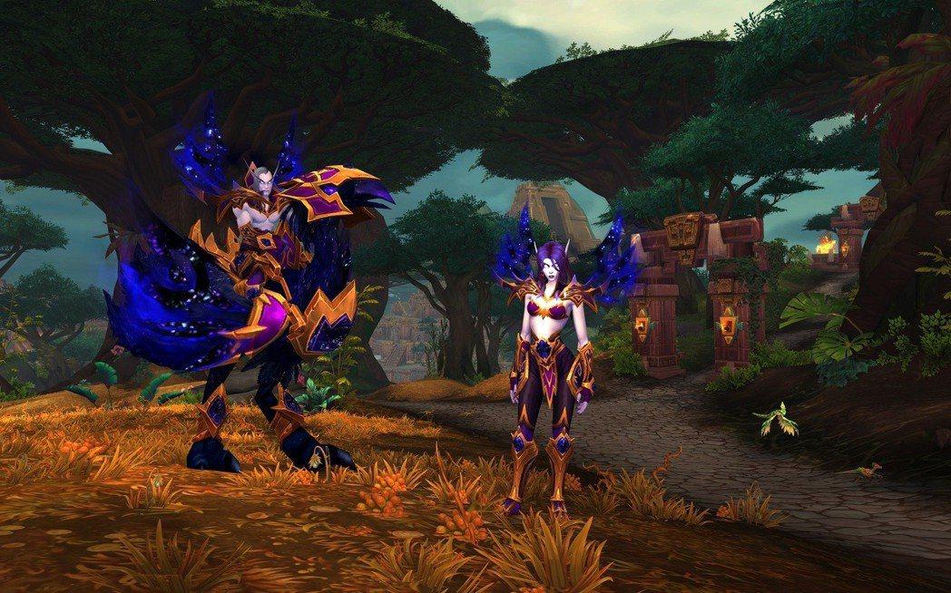 《魔獸世界:決戰艾澤拉斯》全新同盟種族虛無精靈與坐騎