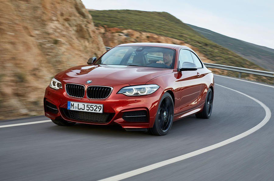 現行BMW 2 coupe。 摘自BMW