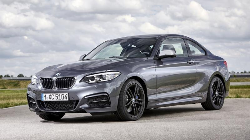 現行BMW 2 coupe。 摘自BMW