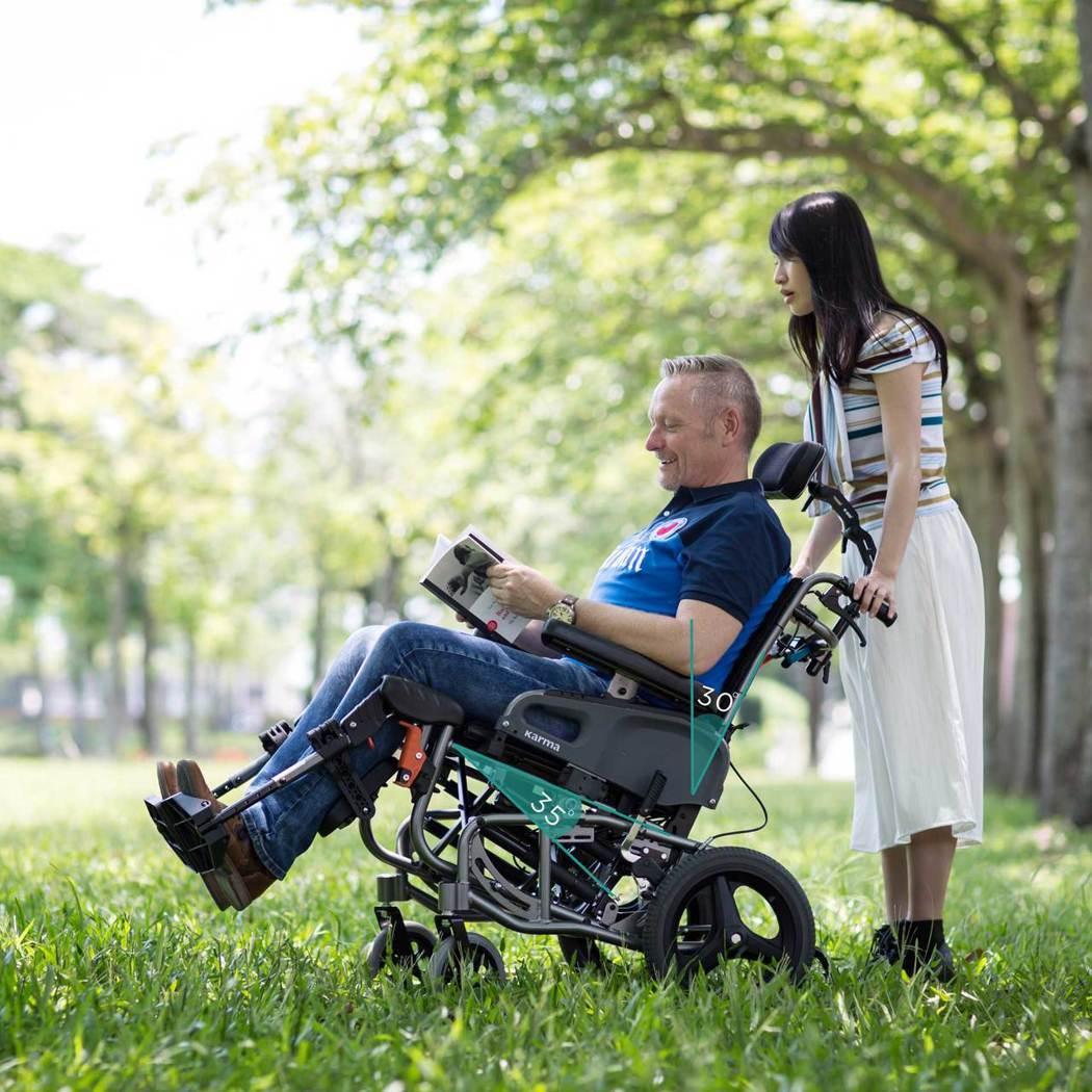市面上的後躺+空中傾倒二合一輪椅,最高補助金額可達到1.75萬元,可減輕不少負擔...