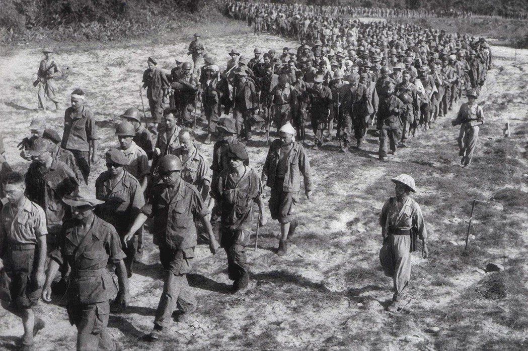 「今天,我們決意反對法國帝國主義者邪惡的陰謀,同時呼籲戰勝盟國承認我們的自由與獨...
