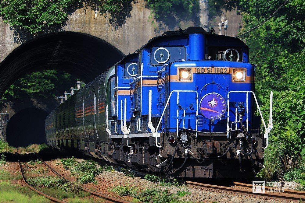 豪華寢台列車「特急仙后座」,客艙服務大升級,成為赴北海道旅遊的新時尚。 圖/作者...