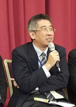 1 Photo: Chen Kuo-hsien at the conferenc...