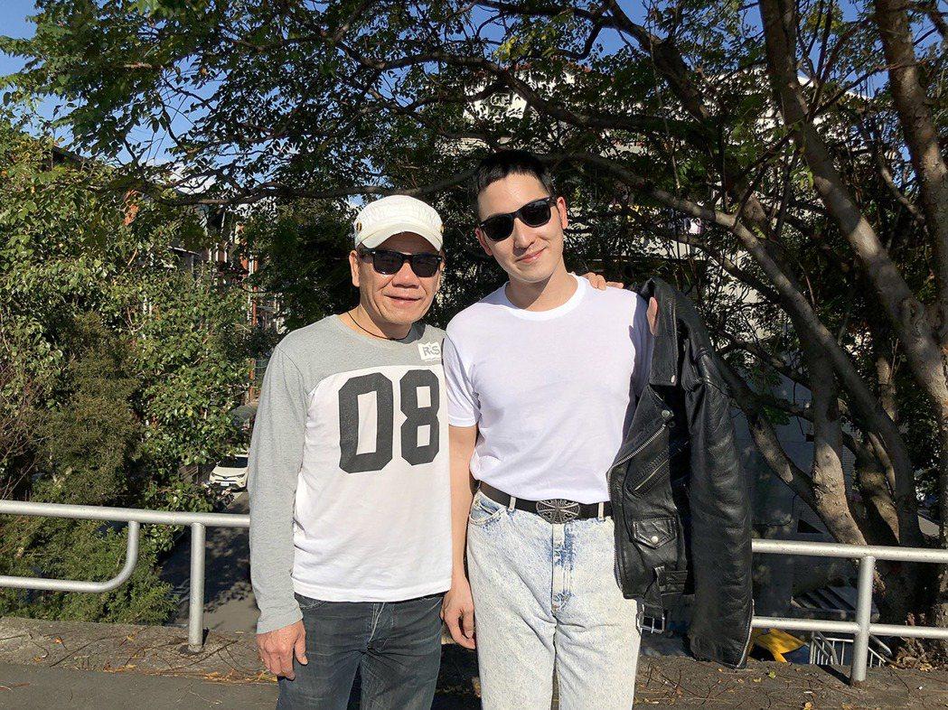 趙傳和許時豪合作最新MV「名不虛傳」。圖/旋風音樂