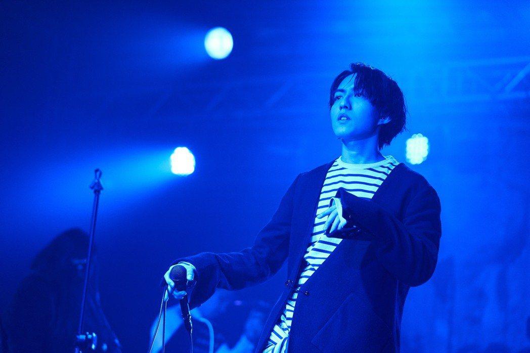 林宥嘉1日在台北舉辦小型演唱會。圖/華研提供