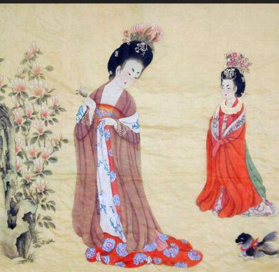 楊貴妃愛吃荔枝,美容保養以食補為主。圖╱取自柯夢波丹日文版網頁
