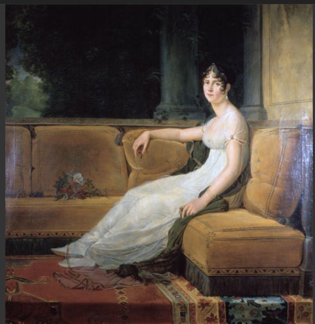 拿破崙第一任妻子約瑟芬皇后愛噴香水,據傳拿破崙一個月就要消耗60瓶。圖╱取自柯夢...