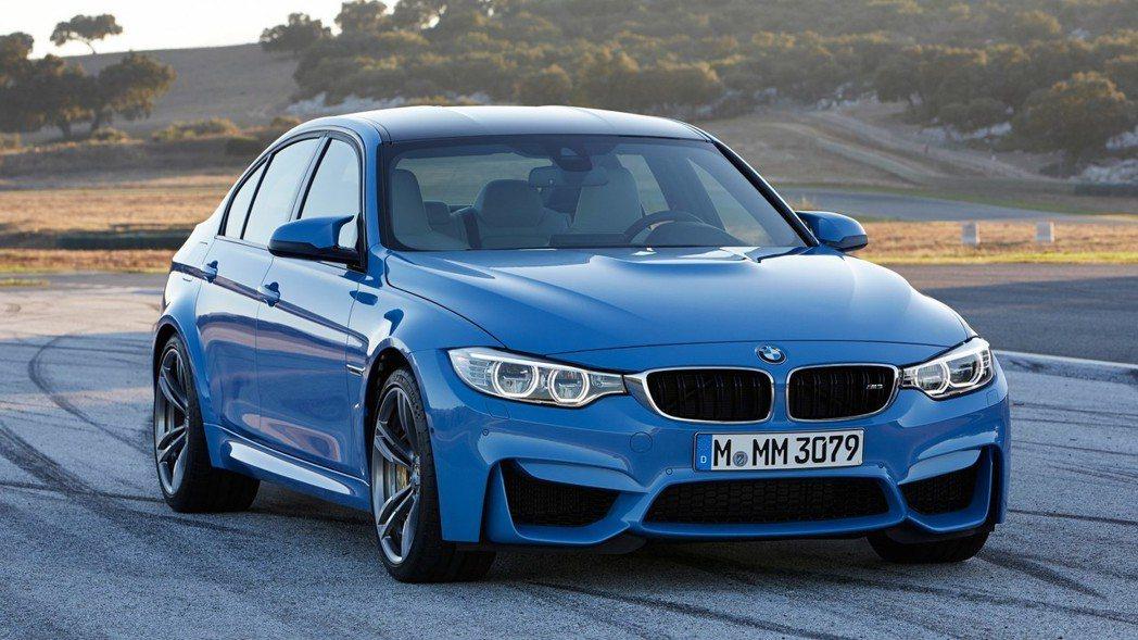 現行版 BMW F80 M3 。 摘自BMW