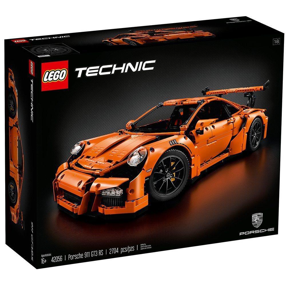 Technic Porsche 911 GT3 RS。 圖/LEGO提供