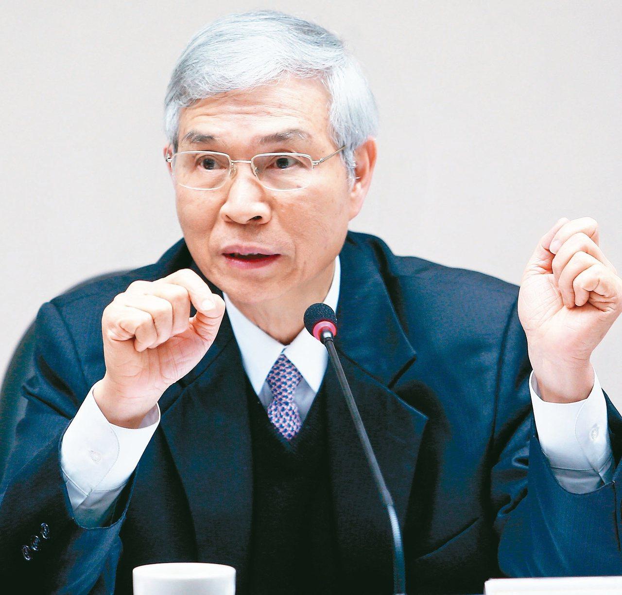 央行新任總裁楊金龍。 報系資料照