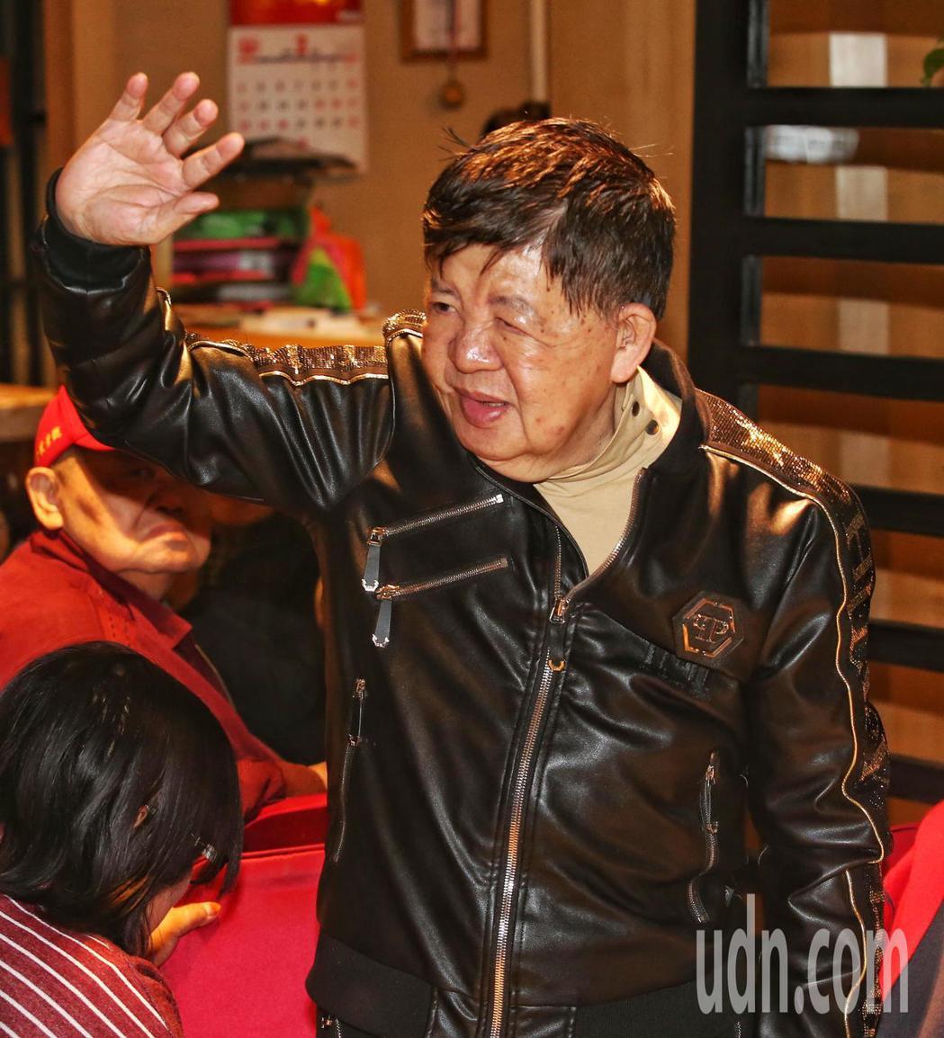 林松義出席餐會。記者鄭清元/攝影