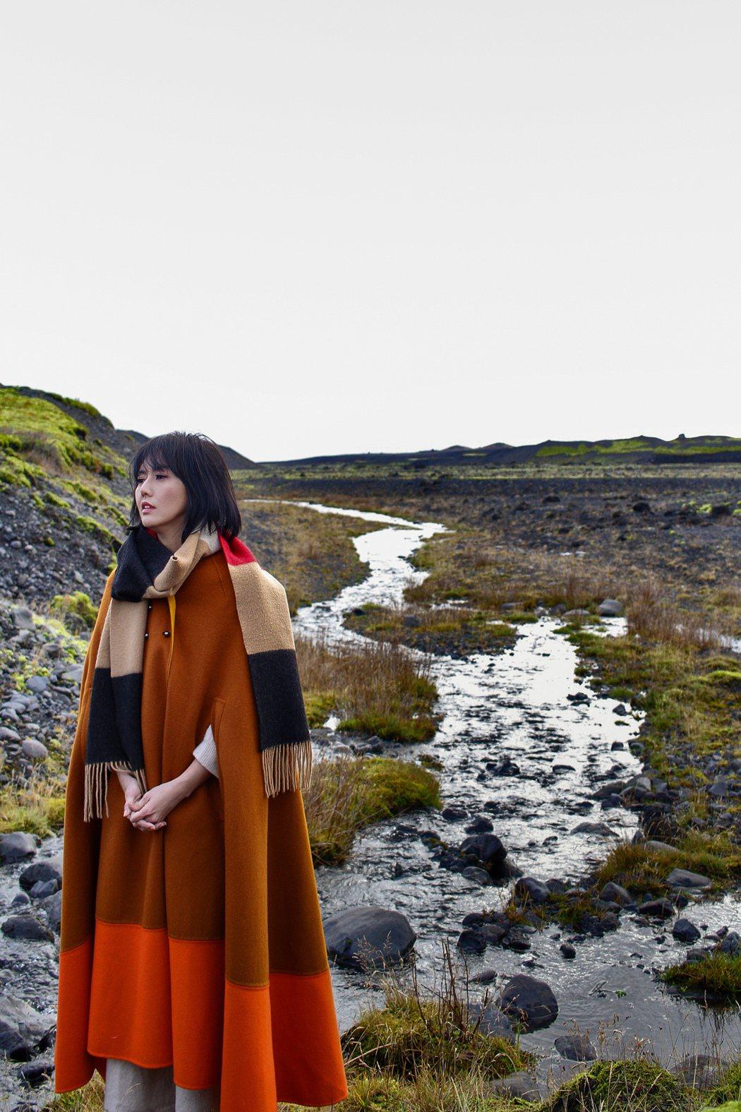 孫燕姿推出最新MV「極美」。圖/環球唱片提供