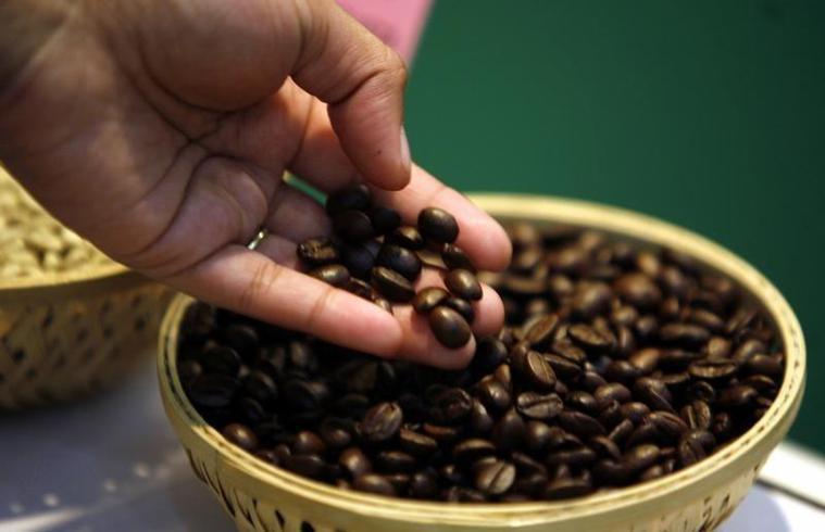 咖啡豆。路透
