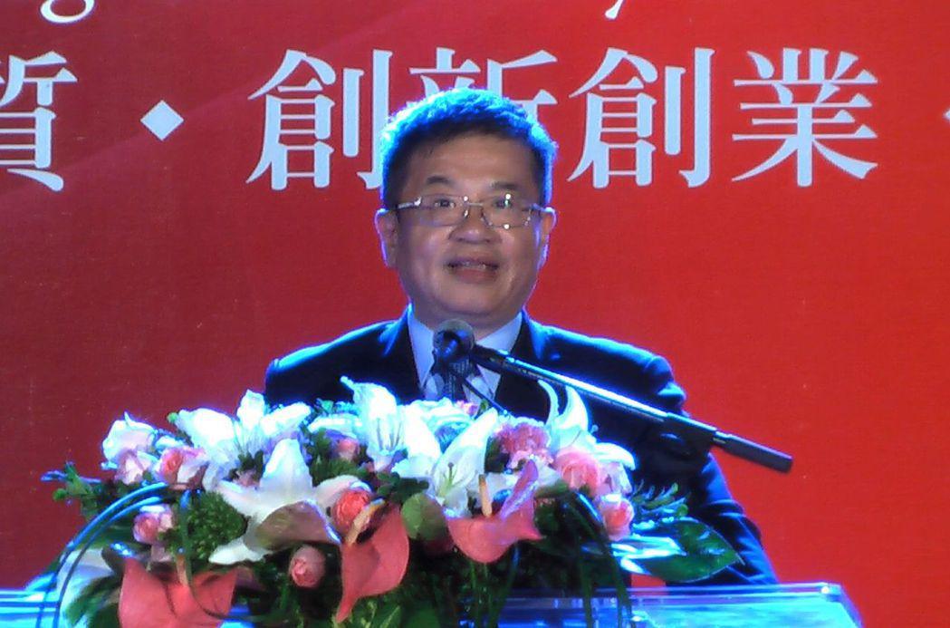 楊慶煜就職為高雄科技大學校長。記者徐如宜/攝影