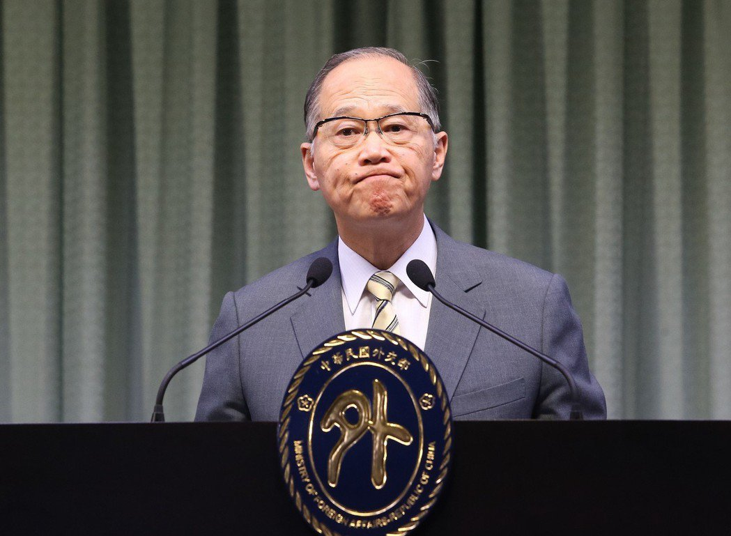 外交部長李大維。 圖/聯合報系資料照片