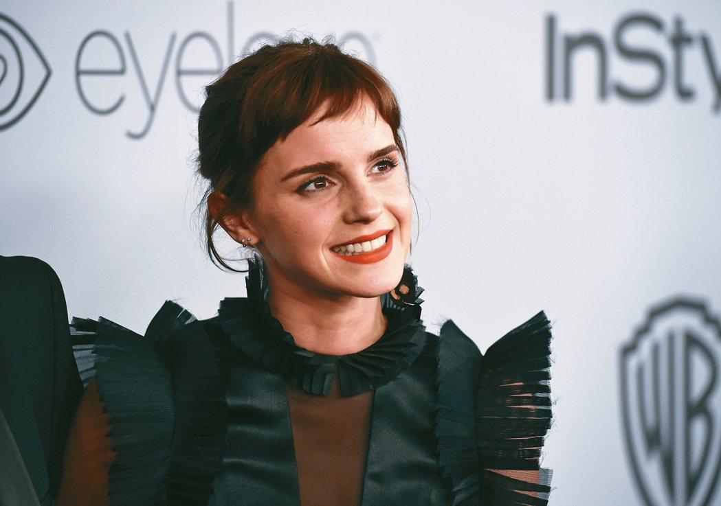 英國女星艾瑪華森等多位女星本月出席英國影藝學院電影獎時,將穿著一身黑禮服,表示支