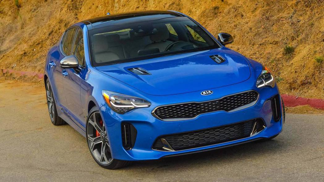 Kia Stinger GT。 摘自Kia
