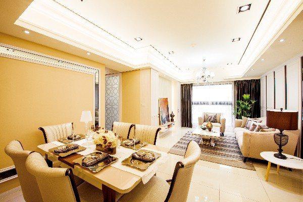 超級花園主打月付1.88萬,買3房含裝潢,是當今市場上划算的選擇。 圖/超級花園...