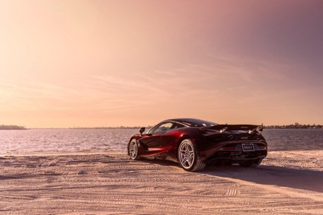 特製McLaren 720S超跑65萬美元賣出 買超跑也能做善事