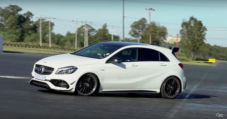 (影音) Audi RS3與Mercedes-AMG A45也可以甩尾嗎?