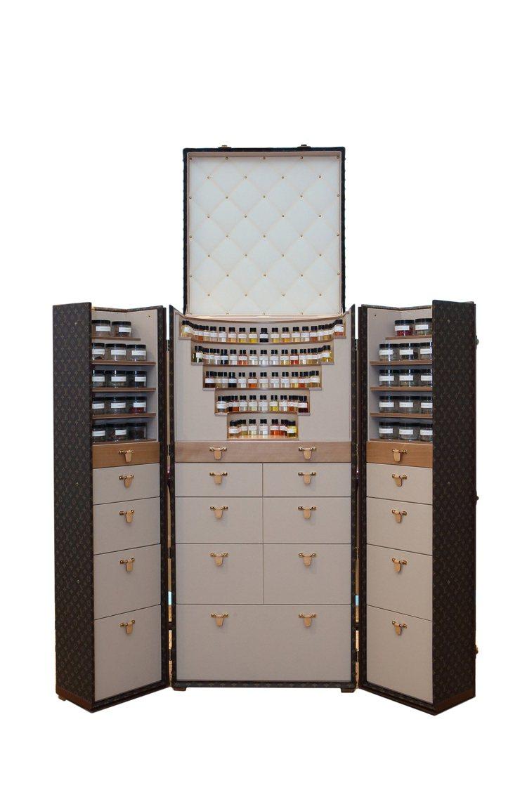路易威登編號8「香氛寶箱」在台灣展出。圖/LV提供