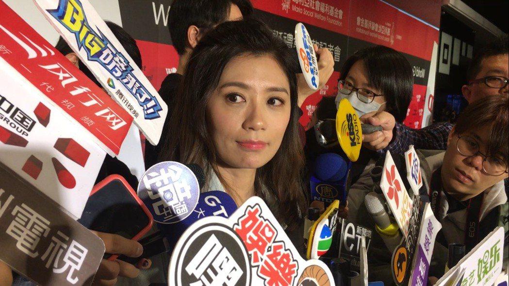 賈靜雯出席捐助瑪莉亞基金會公益活動。記者陳慧貞/攝影