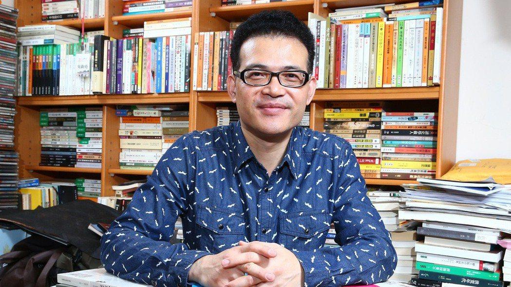 小說家吳鈞堯。 報系資料照