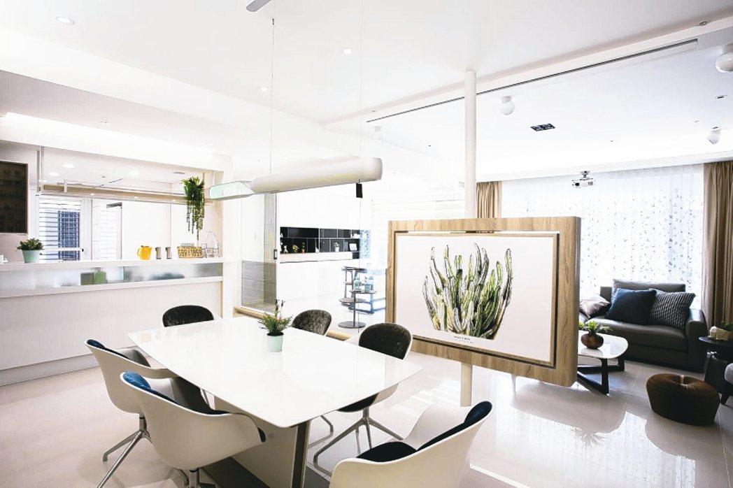 適度留白是打造精品住宅的要訣之一。 永慶居家/提供